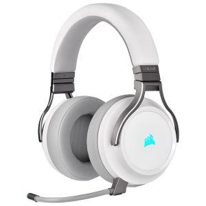 Corsair Virtuoso HI-FI RGB Beyaz Kablosuz Oyuncu Kulaklığı