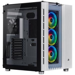Corsair Crystal 680X RGB Beyaz ATX Bilgisayar Kasası