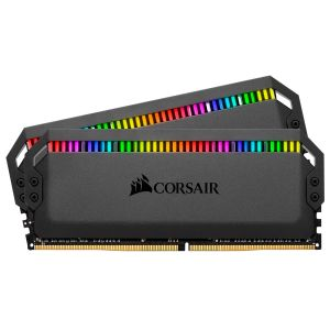 Corsair Dominator Platinum RGB 32GB (2X16GB) DDR4 3200MHz CL16 Siyah RGB Ram