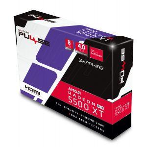 Sapphire Radeon RX 5500 XT Pulse 8GB 128Bit Ekran Kartı