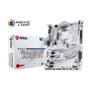 MSI B360 GAMING ARCTIC 1151P v2 B360 DDR4 2666MHz ATX Anakart