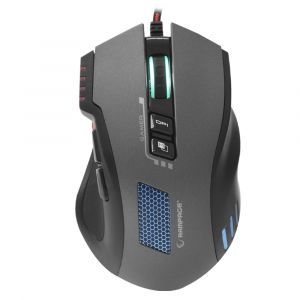 Rampage SMX-R80 Usb Gri/Siyah 3200dpi RGB Makrolu Gaming Mouse