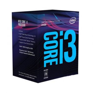 İntel Core i3-8100 3.6GHz (Coffee Lake) LGA1151 İşlemci