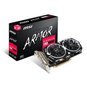 MSI RX570 ARMOR OC 8GB 256 Bit Ekran Kartı