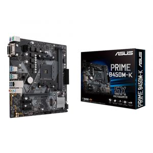 ASUS PRIME B450M-K DDR4 3200MHz AM4 mATX Anakart