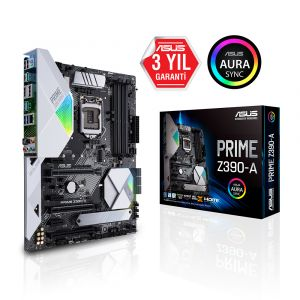 ASUS PRIME Z390-A 1151P ATX Anakart