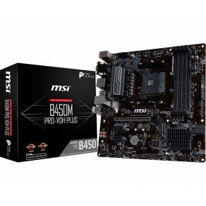 MSI B450M PRO-VDH PLUS DDR4 3466 MHz AM4 mATX Anakart