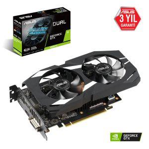 ASUS Dual Geforce GTX 1660 Ti 6GB 192 Bit Ekran Kartı