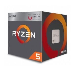 AMD Ryzen 5 2400G 3.6GHz 6MB Vega 11 GPU AM4 İşlemci