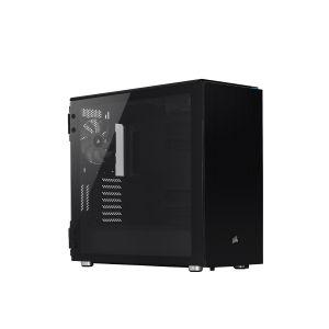 Corsair Carbide 678C Ses Yalıtımlı Temperli Cam Siyah Bilgisayar Kasası