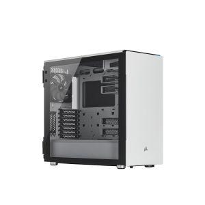 Corsair Carbide 678C Ses Yalıtımlı Temperli Cam Beyaz Bilgisayar Kasası