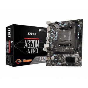 MSI A320M-A PRO DDR4  3200 MHz AM4 mATX Anakart