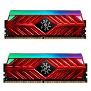 XPG Spectrix D41 16GB (2x8) 3000MHz DDR4 CL16 RGB Kırmızı Ram