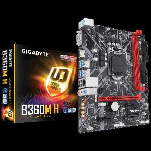 Gigabyte B360M-H 1151P DDR4 2666 MHz Anakart