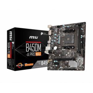 MSI B450M-A PRO MAX DDR4 4133MHz (OC) AM4 mATX Anakart