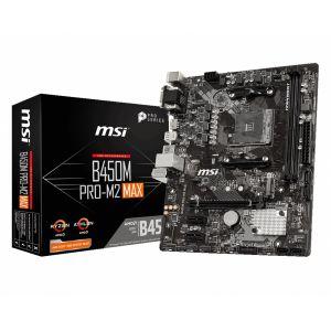 MSI B450M PRO-M2 MAX DDR4 4133 MHz OC AM4 mATX Anakart