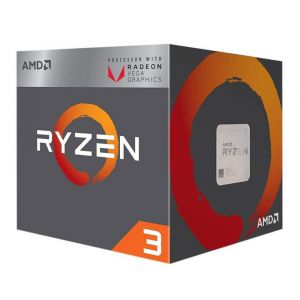 AMD Ryzen 3 2200G 3.5GHz 6MB Vega 8 GPU AM4 İşlemci