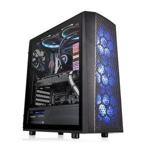 Thermaltake Versa J24 RGB Edition Temperli Cam Mid Tower ATX Bilgisayar Kasası 650W 80+ Güç Kaynağı