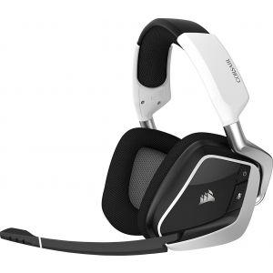 Corsair Void Pro RGB Dolby 7.1 Kablosuz Beyaz Oyuncu Kulaklığı