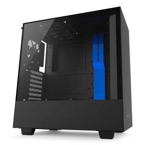 NZXT H500 Mid Tower ATX Mavi - Siyah Bilgisayar Kasası