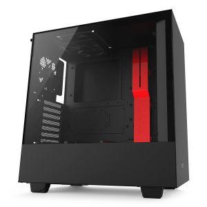NZXT H500 Mid Tower ATX Kırmızı - Siyah Bilgisayar Kasası