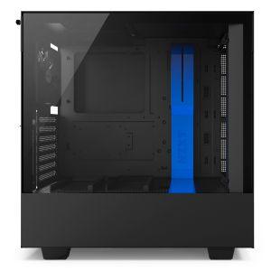 NZXT H500i Mid Tower ATX Akıllı Mavi - Siyah Bilgisayar Kasası