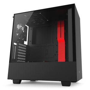 NZXT H500i Mid Tower ATX Akıllı Kırmızı - Siyah Bilgisayar Kasası