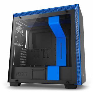 NZXT H700 Mid Tower ATX Mavi - Siyah Bilgisayar Kasası