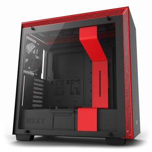 NZXT H700 Mid Tower ATX Kırmızı - Siyah Bilgisayar Kasası