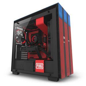 NZXT H700 PUBG Limited Edition Temperli Cam Bilgisayar Kasası