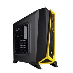 Corsair Carbide Spec Alpha Mid Tower ATX Sarı Siyah Bilgisayar Kasası