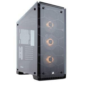 Corsair Crystal 570X RGB Temperli Cam Mid Tower ATX Bilgisayar Kasası