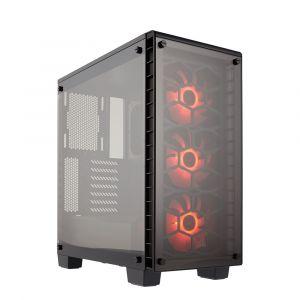 Corsair Crystal 460X RGB Temperli Cam Mid Tower ATX Bilgisayar Kasası