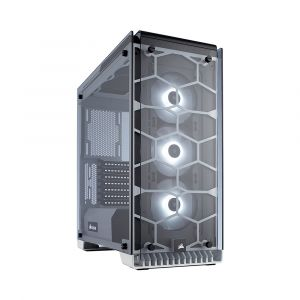 Corsair Crystal 570X RGB Fanlı Temperli Cam Beyaz Kasa