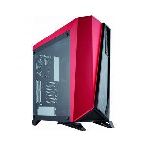 Corsair Carbide Spec Omega Temperli Cam Mid Tower ATX Kırmızı Siyah Bilgisayar Kasası