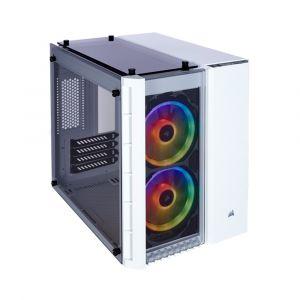 Corsair Crystal 280X RGB Temperli Cam mATX Beyaz Bilgisayar Kasası