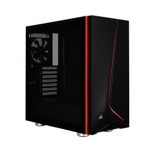 Corsair Spec-06 Temperli Cam Mid Tower ATX Siyah Bilgisayar Kasası