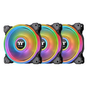 Thermaltake Quad Riing Siyah ARGB 3x120mm Fan ve Kontrolcülü Kasa Fanı Kiti