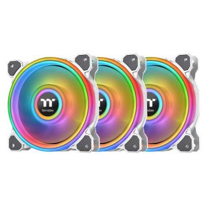 Thermaltake Quad Riing Beyaz ARGB 3x140mm Fan ve Kontrolcülü Kasa Fanı Kiti