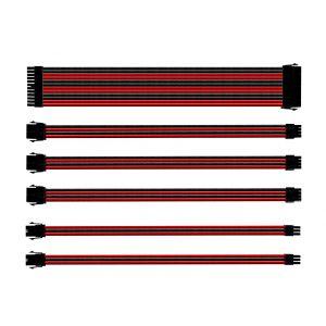 Cooler Master Kırmızı - Siyah Kablo Seti
