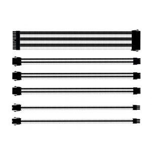 Cooler Master Siyah - Beyaz Kablo Seti