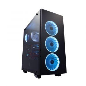 FSP CMT510 Temperli Camlı RGB ATX Mid Tower Bilgisayar Kasası