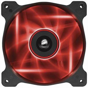 Corsair AF120 Quiet Edition Yüksek Hava Akışlı 120mm Kırmızı LED Fan