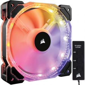 Corsair HD120 PWM RGB LED Yüksek Performans Kontrol Üniteli 120mm Fan