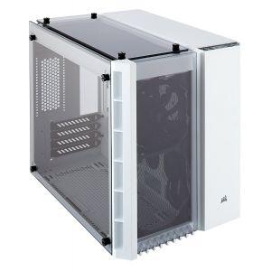 Corsair Crystal 280X Temperli Cam mATX Beyaz Bilgisayar Kasası