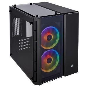 Corsair Crystal 280X RGB Temperli Cam mATX Bilgisayar Kasası