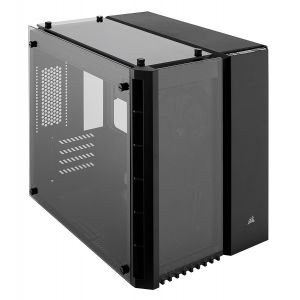 Corsair Crystal 280X Temperli Cam mATX Siyah Bilgisayar Kasası