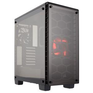 Corsair Crystal 460X Temperli Cam Mid Tower ATX Bilgisayar Kasası