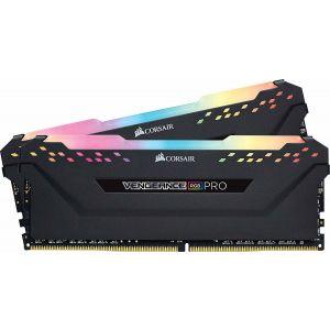 Corsair Vengeance RGB Pro 16 GB (2x8) DDR4 3200MHz CL16-18-18-36 Siyah RGB Ram