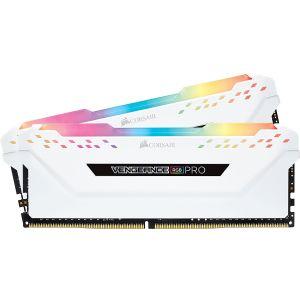 Corsair Vengeance RGB Pro 32 GB (2x16GB) DDR4 2666MHz CL16 Beyaz RGB Ram